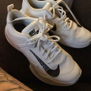 White Nike Volleyball Sneakers